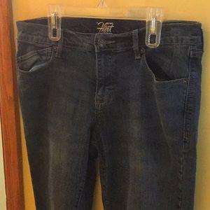Old Navy flirt jeans 12